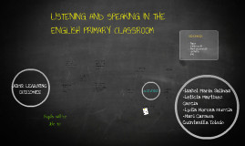 Copy of LISTENING AND SPEAKING IN THE