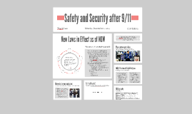 Safety and Security after 9/11