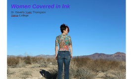 Women Covered in Ink