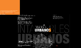 INTANGIBLES URBANOS III
