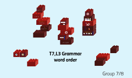 les 1- word order