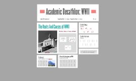 Copy of Academic Decathlon: WWII