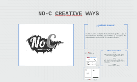 Copy of NO-C CREATIVE WAYS