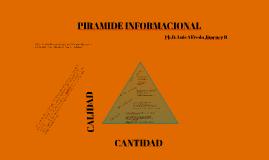 PIRAMIDE INFORMACIONAL (datos , Conocimiento)