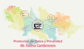 Protección de Datos y Privacidad