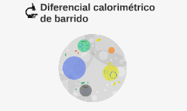 Diferencial calorimétrico de barrido