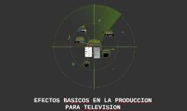 REPASO DE PRODUCCION PARA TELEVISION, MOVIEMIENTOS DE CAMARA