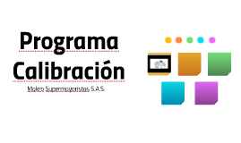 Programa Calibracion