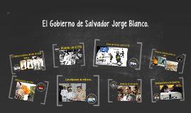 El Gobierno de Jorge Blanco