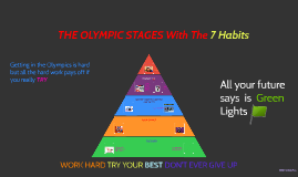 THE OLYMPIC STAGES