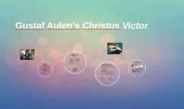 Gustaf aulen christus victor