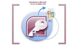 Copy of Formularios en Microsoft Acces vía página web