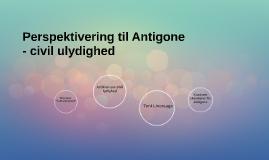 Perspektivering til Antigone