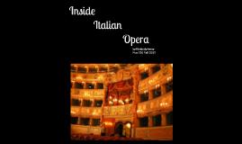 Copy of Italian Opera