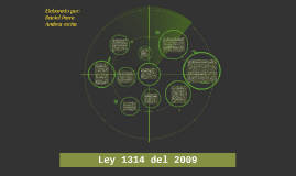 Ley 1314 del 2009