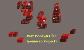 Cost Principles for Sponsored Projects