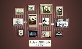 Hendrick's Gin Presentation