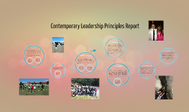 Comtemporary Leadership Principles Report