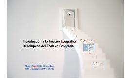 Introducción a la Imagen Ecográfica