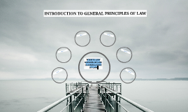 INTRODUCTION TO GENERAL PRINCIPLES OF LAW
