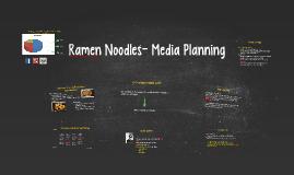 Ramen 5th presentation_media planning