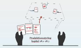 Produktionsstyring