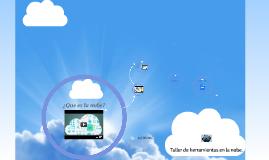 Taller de herramientas en la nube