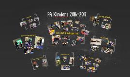 PA Kinders 2016-2017