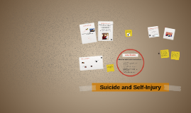 Suicide and Self-Injury