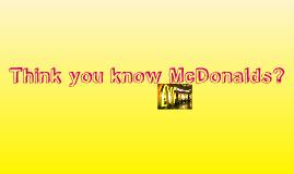 The Legend Of McDonalds