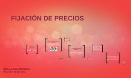 EMILIA 1. FIJACIÓN DE PRECIOS