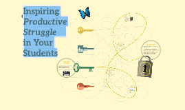 Inspiring Productive Struggle     in Your Students