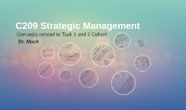 C209 Strategic Management