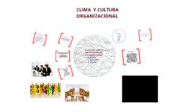 Copy of Clima y cultura organizacional