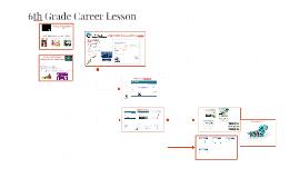 6th Grade Career Lesson
