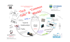 """Tech Talks"" and ""Common Worlds"": Enriching Faculty Professional Development Through Technology"