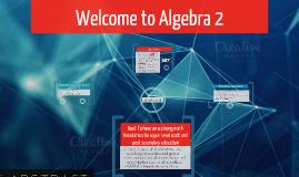Intro to Algebra 2