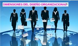 Copy of DIMENSIONES DEL DISEÑO ORGANIZACIONAL