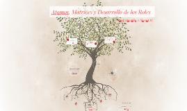 Matrices, Átomos y Roles. Psicodrama