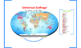 Universal Suffrage in the World