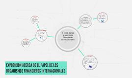 El papel de los organismos financieros internacionales