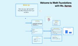 71. Math Foundations