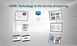 Copy of SAMR - Technology in the Service of Learning