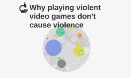 video games don t cause violence