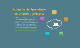 Proyectos de Aprendizaje en Infantil y Primaria