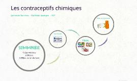 Les contraceptifs chimiques