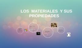 LOS  MATERIALES  Y SUS