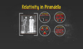 Relativity in Pirandello