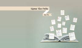 Sigma Tau Delta