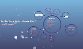 Purifier Room Design- Graded Unit 2